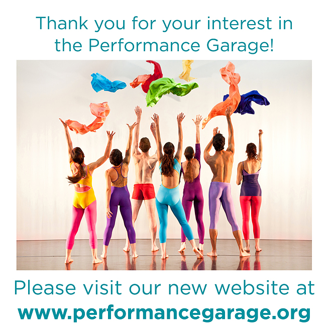 The Performance Garage An Intimate Performance Theater